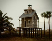 Beach House Photography, Louisiana Decor, Cajun Photo, Creole Fishing Village, Palm Trees, Tiny House Swoon, Schoolhouse Decor