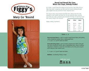 Mary Go 'Round Sewing Pattern