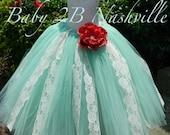 Mint Dress Ivory Dress La...