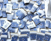 China Mosaic Tiles - All about the Blues - Broken Plate - Mosaic Tiles over 110 pieces plus