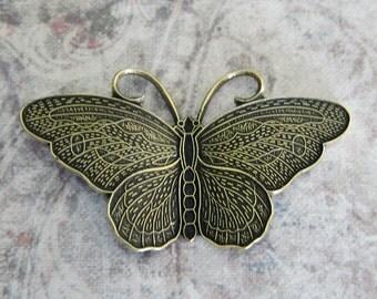 NEW Medium Brass Butterfly Finding 302MB