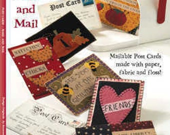 Card Craft Book - Post Cards Design Originals  - Kitsnbitscraps