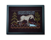 The Last Unicorn Cross Stitch Pattern Instant Download