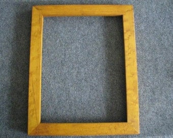 11x14  Birds Eye Rock Maple with Honey Amber Dye Picture Frame X