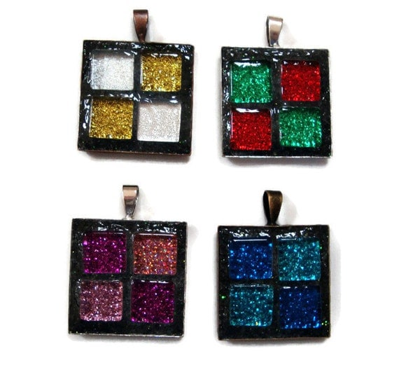 Mosaic Pendants You pick style and color