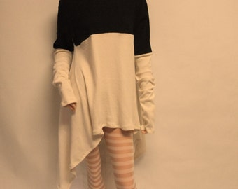 Asymetrical Tunic Dress