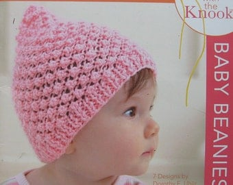Baby Beanies Knit Knook Pattern Book
