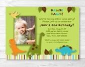 Cute Dinosaur Birthday In...