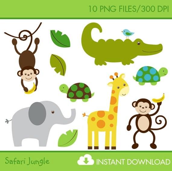 jungle print clip art - photo #30