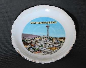 1962 Seattle World's Fair Souvenir Plate