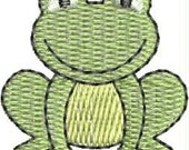 Mini froggy embroidery designs INSTANT DOWNLOAD