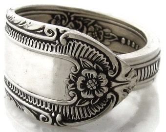 Silver Spoon Ring Cotillion Silverware Pattern size 3 4 5 6 7 8 9 10 11 12 13 14 15
