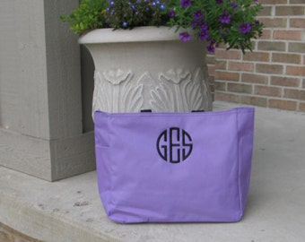 Personalized Colorful Essential Tote - Monogram gifts for Bridesmaids, Graduation, Mother's Day, Birthday or Just Because