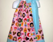 Super Kids  Super Hero  Pillowcase Dress, Sizes 3M  up to 7 years