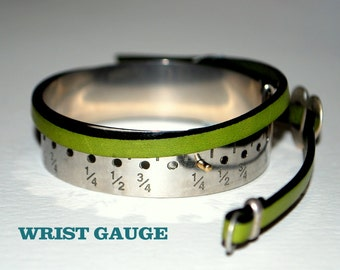 "Wrist Gauge- metal  in 1/4 Inch Increments 5""-9"" ~ FREE SHIPPING"