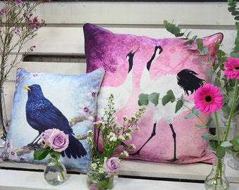 Set of 2 cushion covers for throw pillow of your choice-Any two you  like 16x16inch // 40x40cm & 24x24inch // 60x60cm
