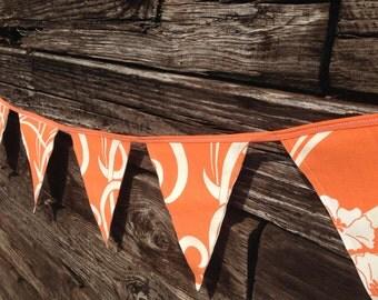 Amy Butler Orange Birthday Party Banner