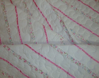 Crib or Baby quilt -CLEARANCE