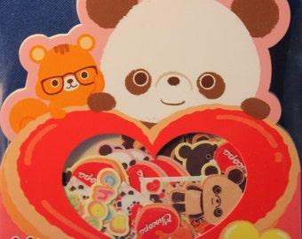 San-X Chocopa I Love Chocolate Sticker Sack A