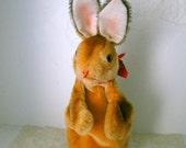 Steiff Bunny Rabbit Hand Puppet Stuffed Animal