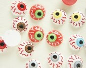 4 pairs (8pcs) Bloodshot Eyes Cabochon (16mm) DR397