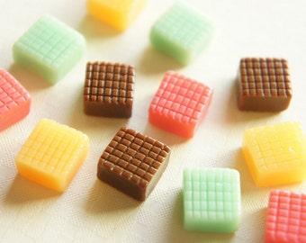 8 pcs Caramel Candy Minaiture Cabochon (12mm) CD008