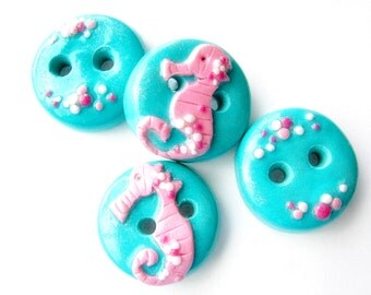Seahorses (set of 4)