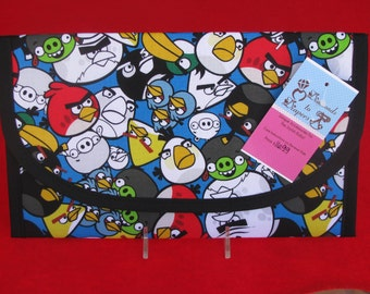Angry Birds Diaper and Wipes Case Holder Clutch