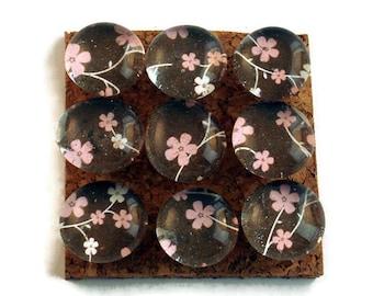Decorative Glass Push Pins  Thumb Tacks Cork Board Pins in Amandla  (P86)