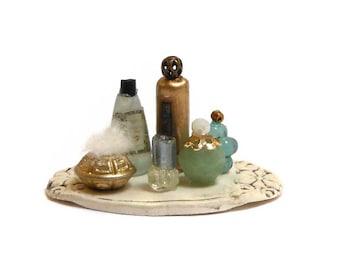 Miniature Perfume Vanity set 13