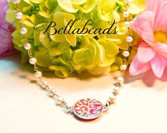 Flower Petal Jewelry,Memorial Beads,Memorial Gift Idea,Memorial Jewelry,Made with Flower Petals,Petite Tree of Life Pendant With Pearls