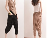 20% OFF SALE - Perfect Indian - draping tapered pants (K5105)