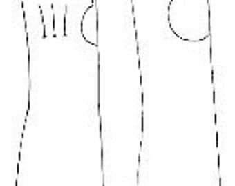 18th C. Fingerless Mittens