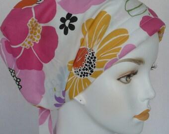 Contemporary Cancer Hat Chemo Scarf Cap Head Wrap Alopecia Turban Headcovering Bad Hair Day