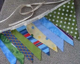 Ready to ship Thomas the train fabric flag banner teacher classroom nursery party outdoor bunting
