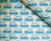 Cars (off white) -Japanese cotton fabric (2 yards)