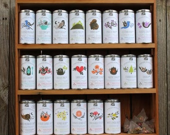 0246 Choose any 3 of our bagged teas made with only organic & wildcrafted herbs, teas and spices