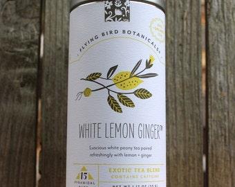 0429 White Lemon Ginger 15bag tin