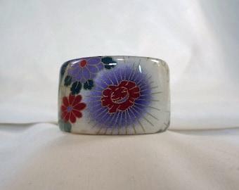 SALE BRACELET-Red and Purple Wide Cuff Bracelet, Accessory, Resin(CCB208)