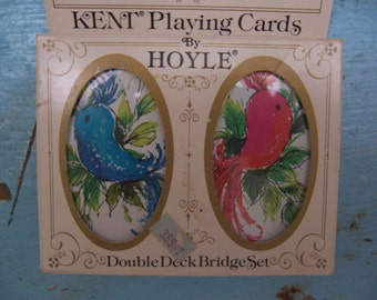 1984 hoyle bridge playing cards