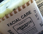 Facial Care - All Natural Vegan Cold Process Bar Soap For Men and Women with Tea Tree and Peppermint