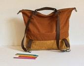 Convertible vegan backpack,Backpack purse,rucksack,mens hobo bag,women shoulder bag,Camera Bag,synthetic Leather,travel,gym bag,school,