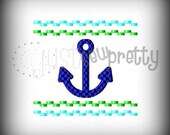 Anchor 4x4 Machine Smocked Embroidery Design
