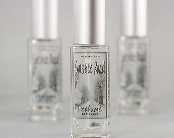 Solstice Road Perfume   Notes of Amber, Sandalwood, Patchouli, Molasses, Pumpkin, and Spice