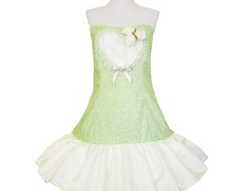 Minty Heart dress With Roses Nostalgic Fairytale Lolita Dress lollicake Lolli Teaparty Princess Bow Dress Cupcake Dress