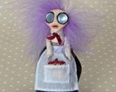 The Little Matchgirl - Peg Art Doll Decoration