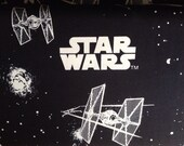Star Wars Star Ships Glow In The Dark Fabric By The Yard