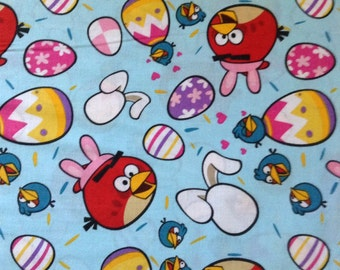 Angry Birds Easter Egg Fabric By The Yard