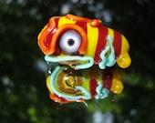 Handmade Glass Face Focal Bead