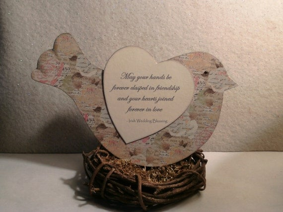 Irish Wedding Blessing May Your Hands Be By GiftBagsBySusan